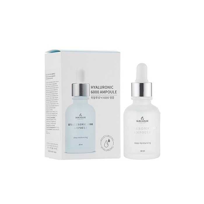 The Skin House Hyaluronic 6000 Ampoule 30 ml