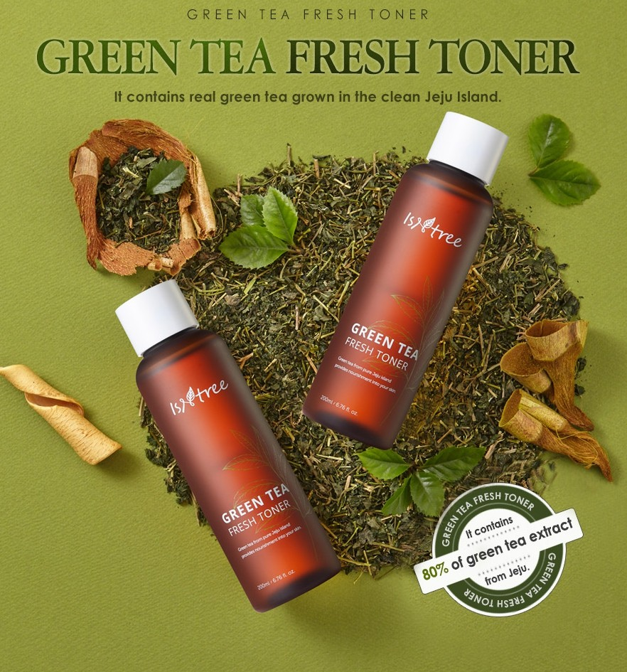 Isntree Green Tea Fresh Toner 200 ml