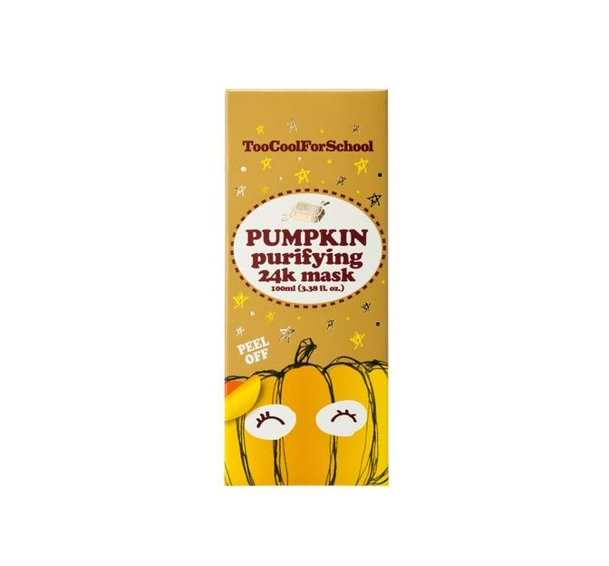 Too Cool For School Pumpkin Purifying 24K Mask 100 ml
