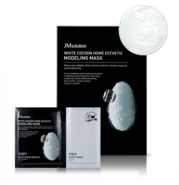 JMsolution White Cocoon Home Esthetic Modeling Mask