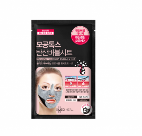 mediheal-mogongtox-soda-bubble-sheet-mask-18-ml