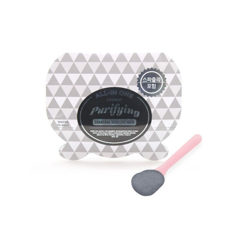 Lindsay All-In One Purifying Charcoal Modeling Mask 26 g