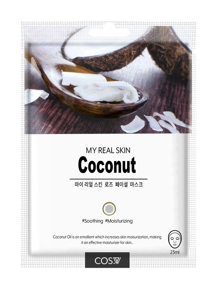 COS. W My Real Skin Coconut Facial Mask