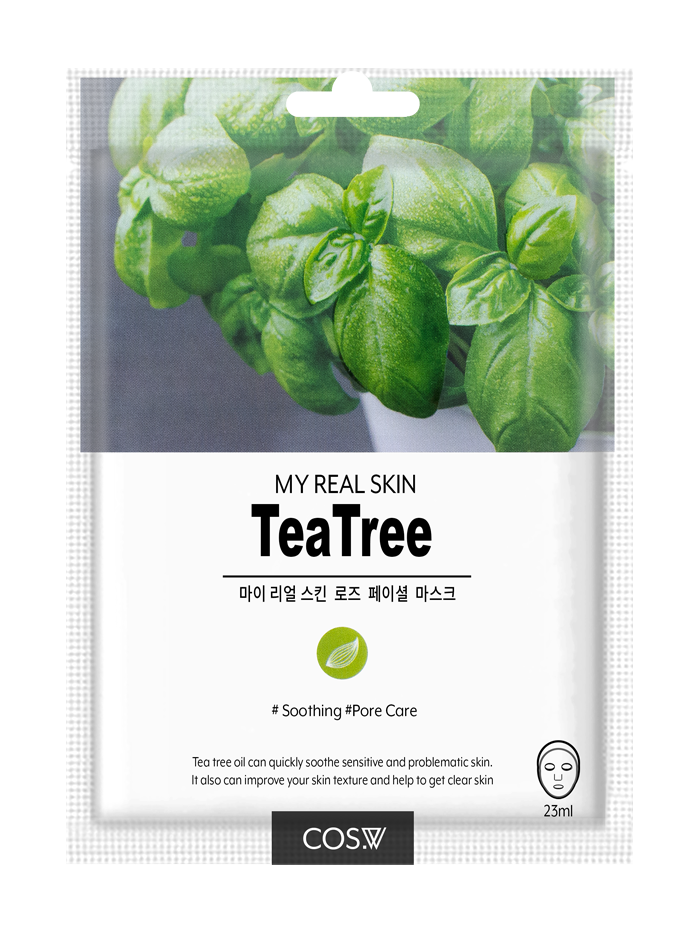 COS. W My Real Skin Tea Tree Facial Mask