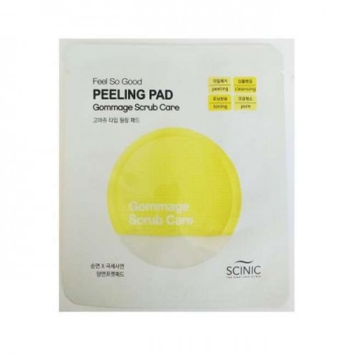ochishayushaya-salfetka-scinic-feel-so-good-peeling-pad-gommage-scrub-care