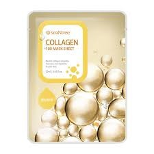 SeaNtree COLLAGEN MASK SHEET