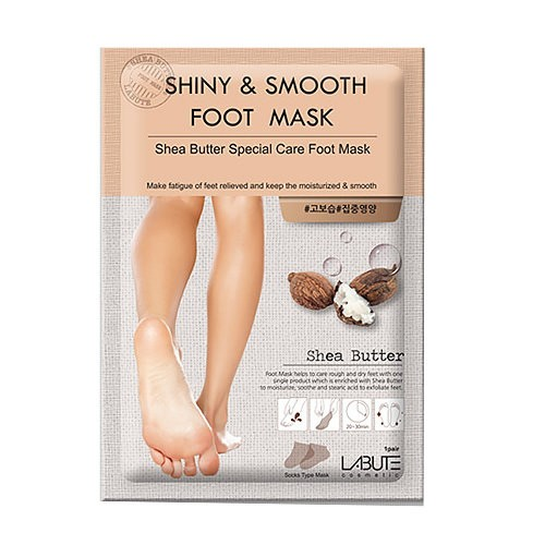 maska-dlya-nog-s-maslom-shi-labute-shiny-and-smooth-foot-mask