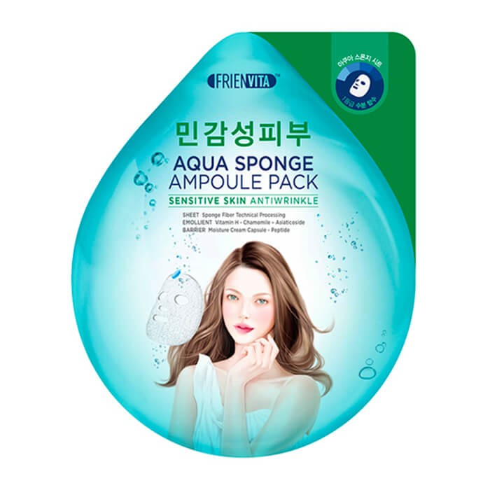 FRIENVITA Aqua Sponge Ampoule Pack Sensitive Skin Antiwrinkle