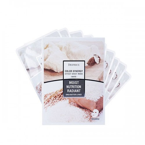 tkanevaya-maska-deoproce-color-synergy-effect-sheet-mask-white