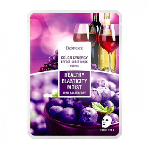tkanevaya-maska-deoproce-color-synergy-effect-sheet-mask-purple