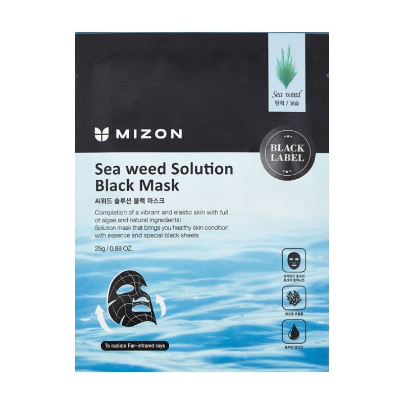 Mizon Sea Weed Solution Black Mask 25 g