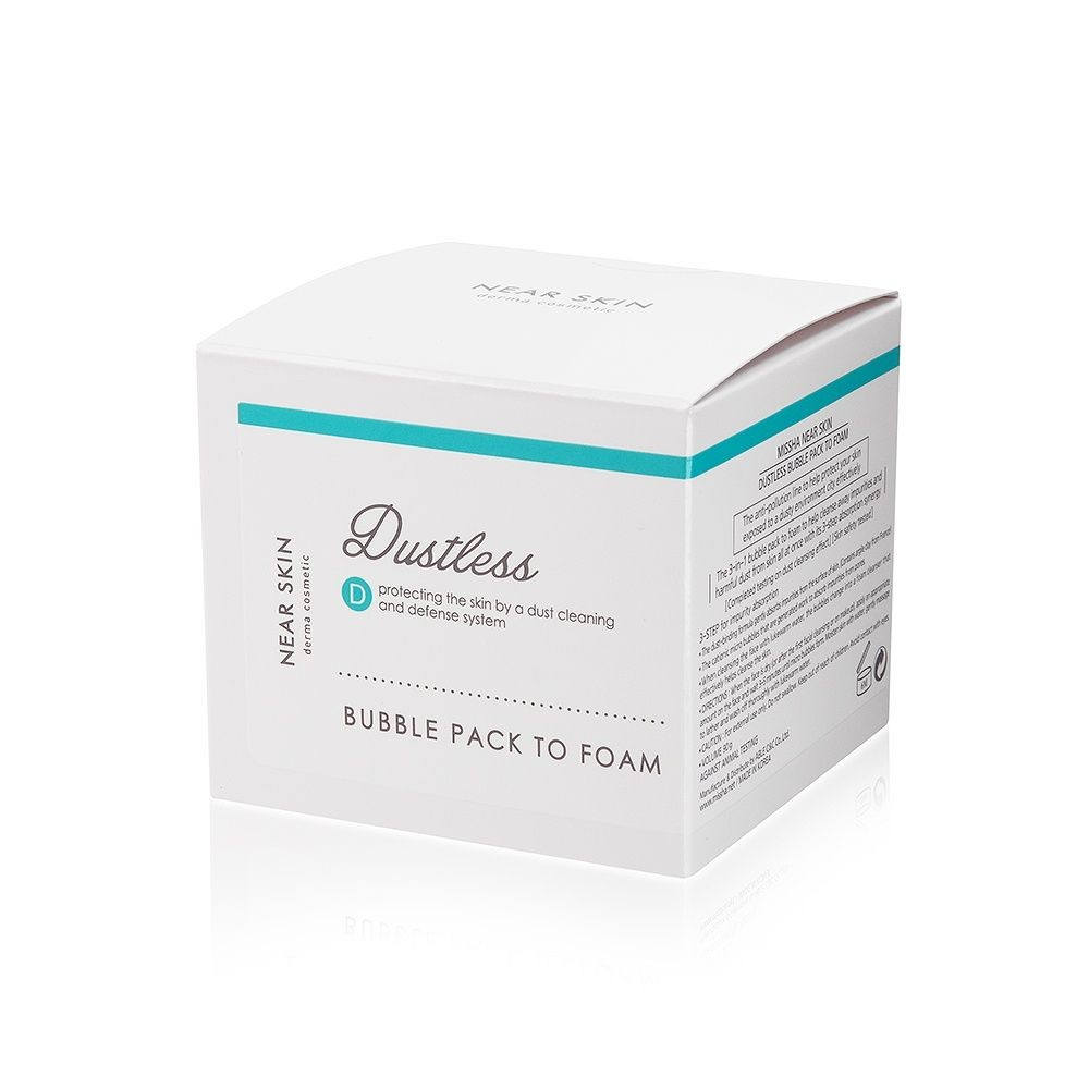 Missha Near Skin Dustless Bubble Pack To Foam 90 g