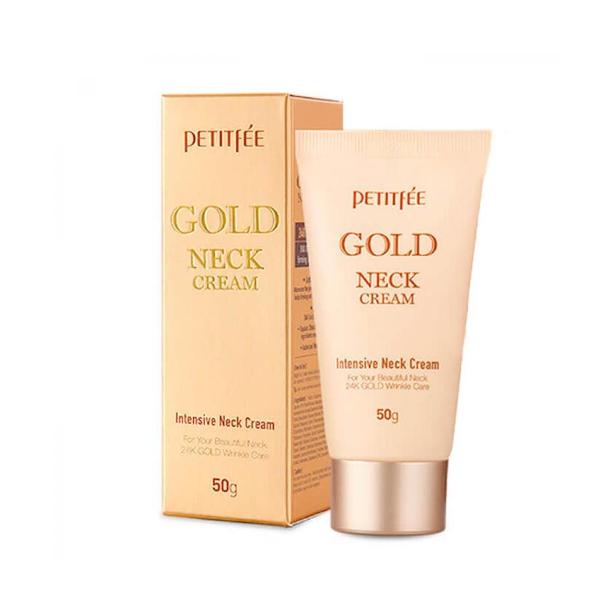 Petitfee Gold Intensive Neck Cream 50 g