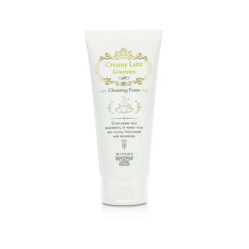 missha-creamy-latte-greentea-cleansing-foam-172-ml