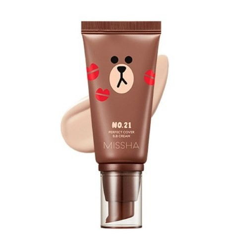 Missha Perfect Cover BB Cream № 21 (Light Pink Beige) 50 ml