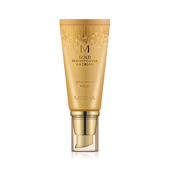 Missha Gold Perfect Cover BB Cream SPF 42 PA+++ № 21 (Light Pink Beige) 20 ml