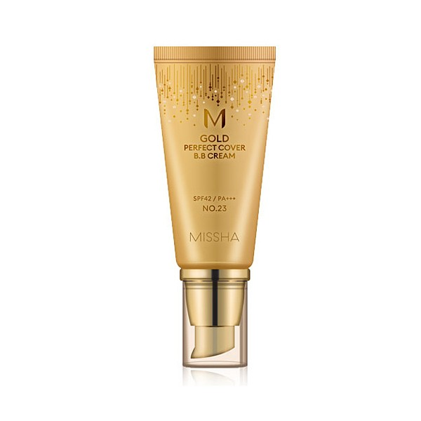 Missha Gold Perfect Cover BB Cream SPF 42 PA+++ № 23 (Natural Yellow Beige) 50 ml