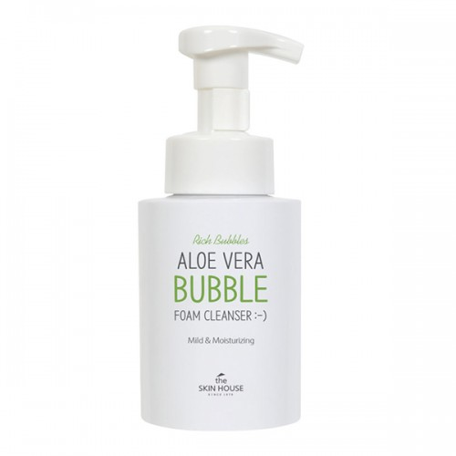 the-skin-house-aloe-vera-bubble-foam-cleanser-150-ml