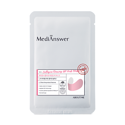 ABOUT ME MediAnswer Collagen Firming Up Neck Mask