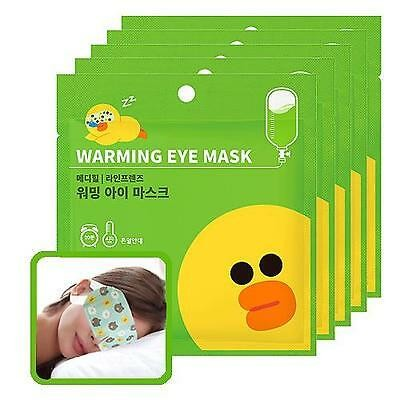 mediheal-line-friends-warming-eye-mask-citrus