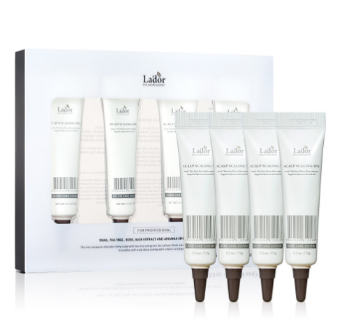 Lador Scalp Scaling SPA set 15g*4 pieces