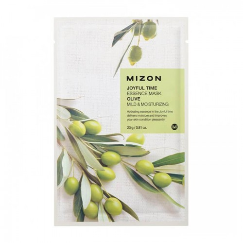 mizon-joyful-time-essence-mask-olive