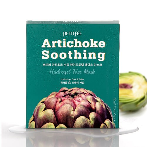 petitfee-artichoke-soothing-hydrogel-face-mask