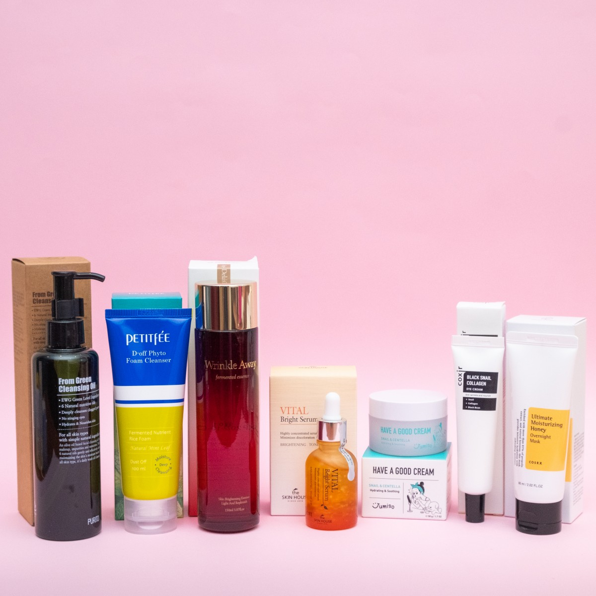 Set for OILY/combination skin 30+