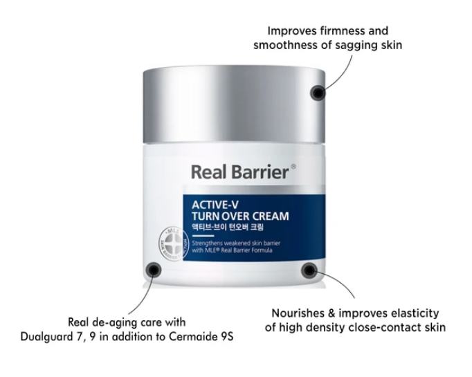 Real Barrier Active-V Turn Over Cream 50 ml