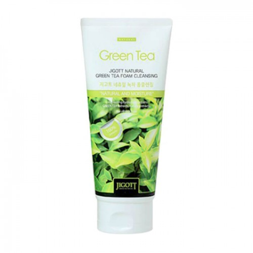jigott-natural-green-tea-foam-cleansing-180ml