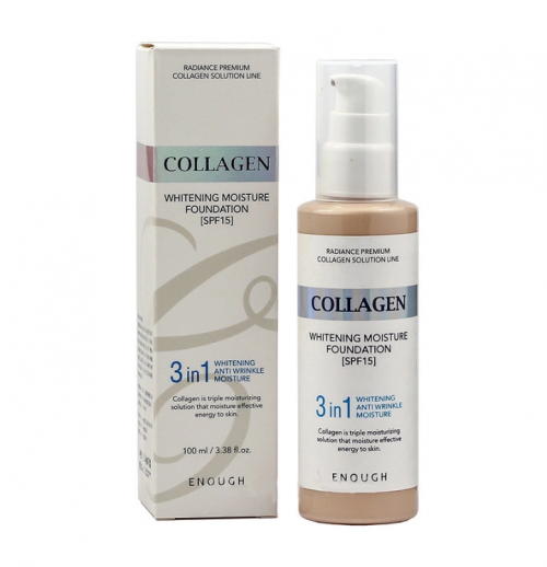 tonalnaya-osnova-s-kollagenom-3-v-1-enough-collagen-whitening-moisture-foundation-3-in-1-spf-15-13-100ml