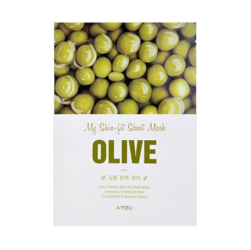 a-pieu-my-skin-fit-sheet-mask-olive-25ml