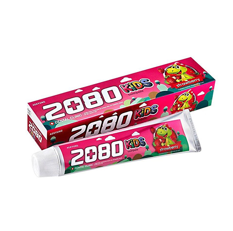 dental-clinic-2080-kids-strawberry-tooth-paste-80g