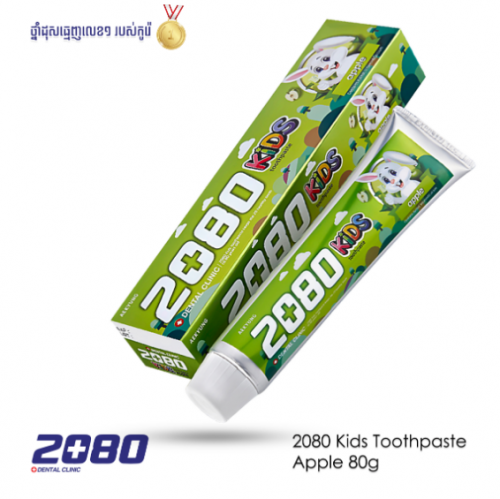 dental-clinic-2080-kids-apple-tooth-paste-80g