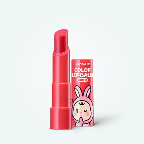 atopalm-color-lip-balm-3-3g-red