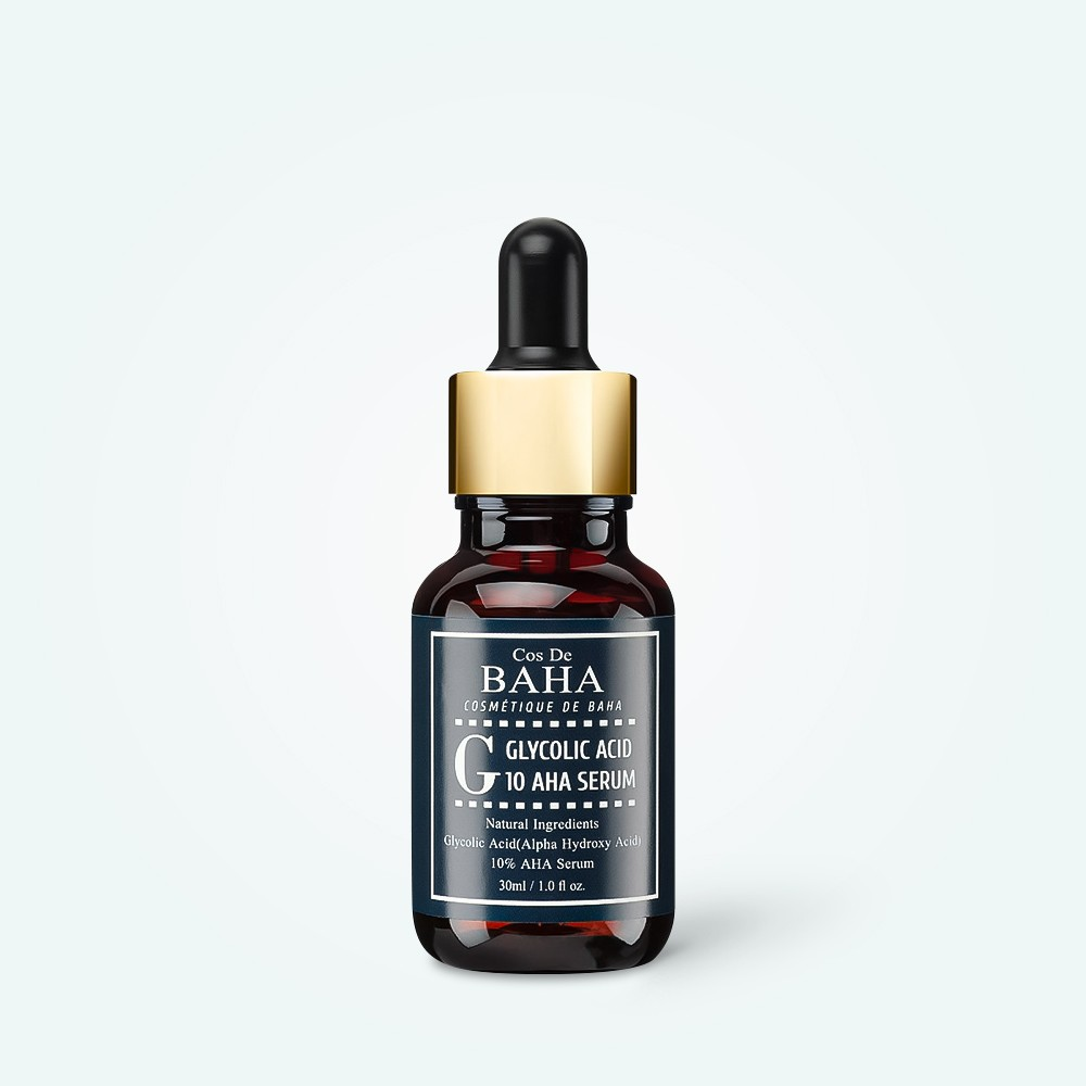 Cos de Baha Glycolic Acid 10% Serum 30ml