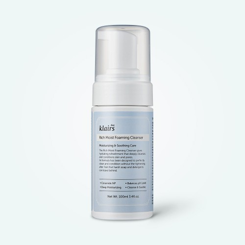 klairs-rich-moist-foaming-cleanser