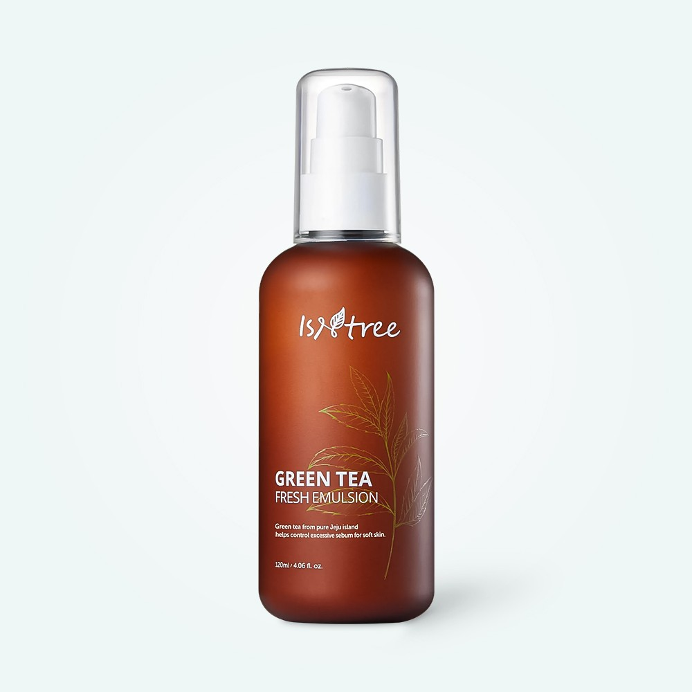 Isntree Green Tea Fresh Emulsion 120 ml