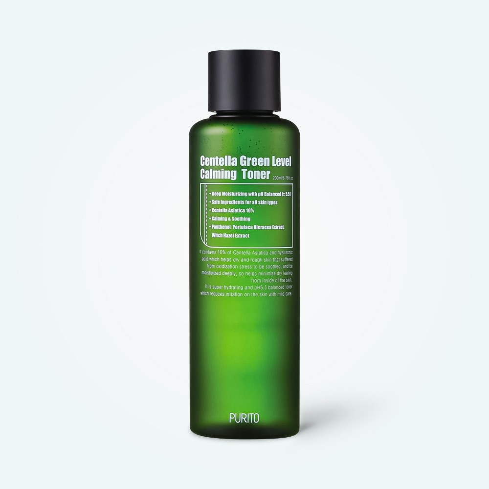 Purito Centella Green Level Calming Toner 200 ml
