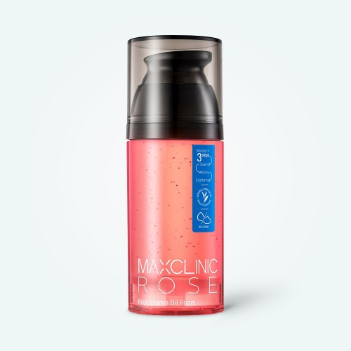 maxclinic-rose-vitamin-oil-foam