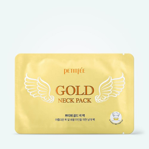 patch-dlya-podtyazhki-shei-petitfee-gold-neck-pack-hydrogel-angel-wings