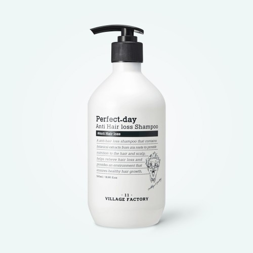 village-11-factory-perfect-day-anti-hair-loss-shampoo-500ml
