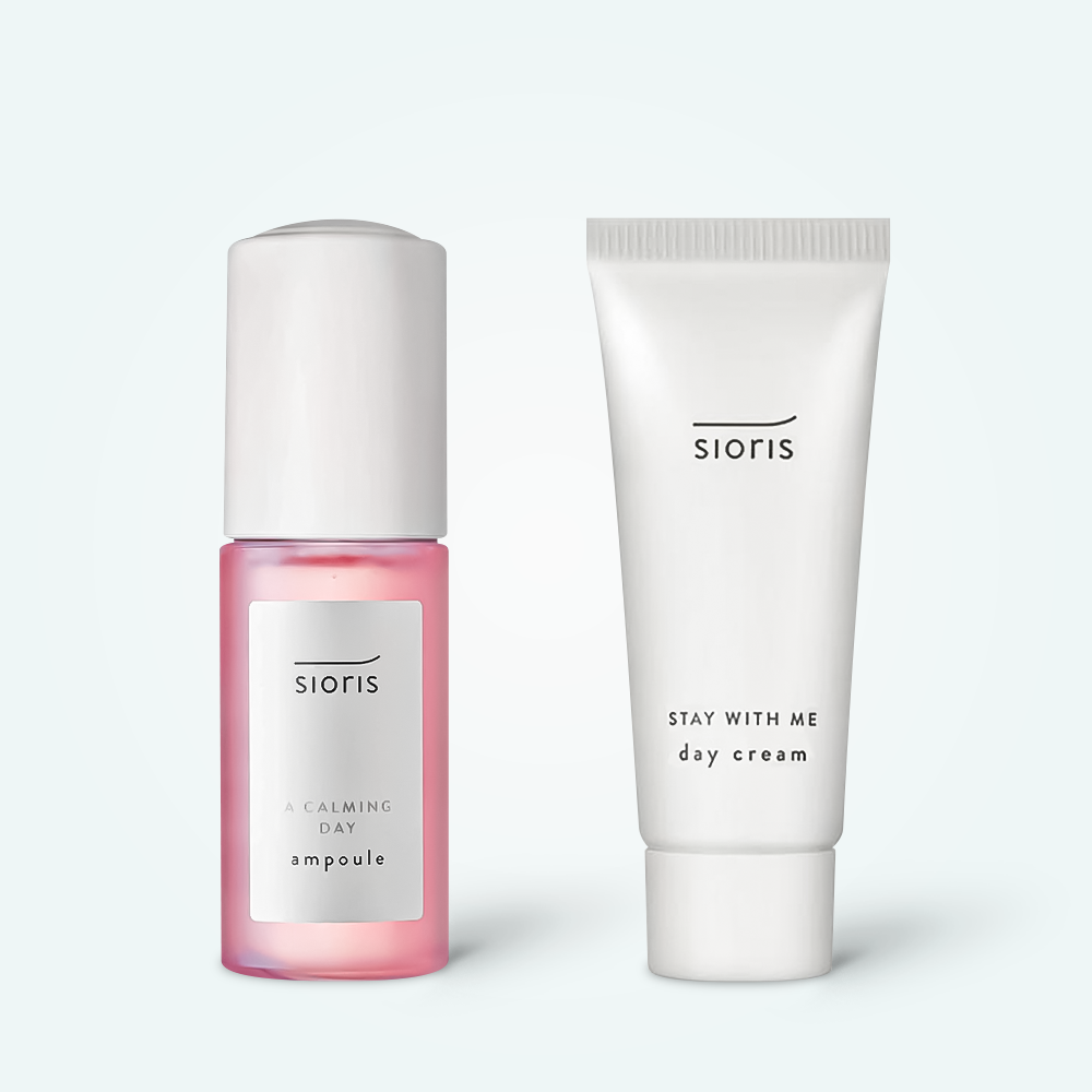 Sioris A Calming Day Ampoule 35ml + Stay With me day Cream 15ml CADOU