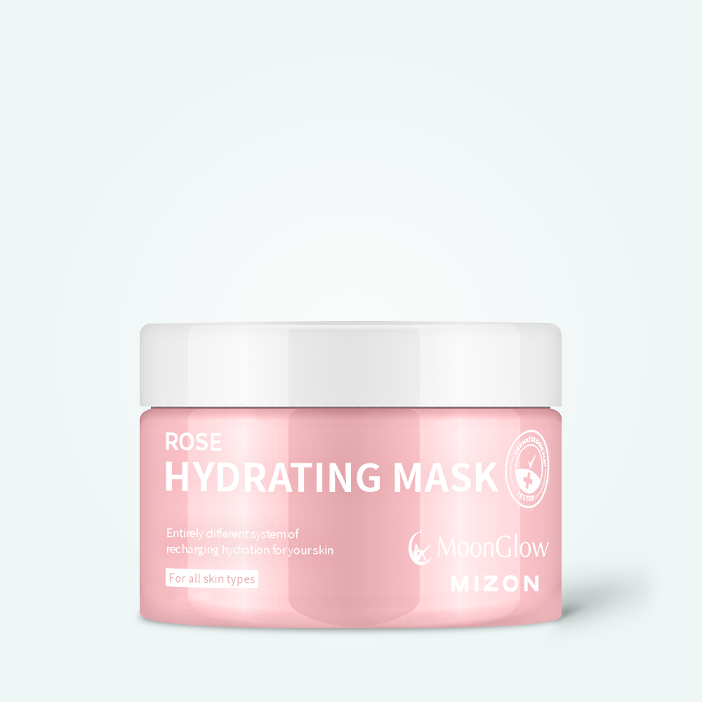 MoonGlow & Mizon Rose Hydrating Mask 100ml