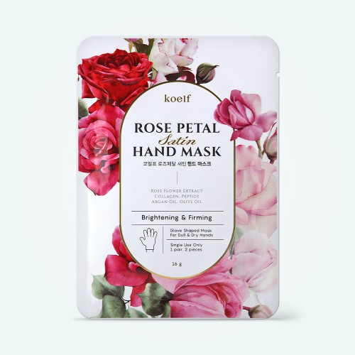 koelf-rose-petal-satin-hand-mask-16g