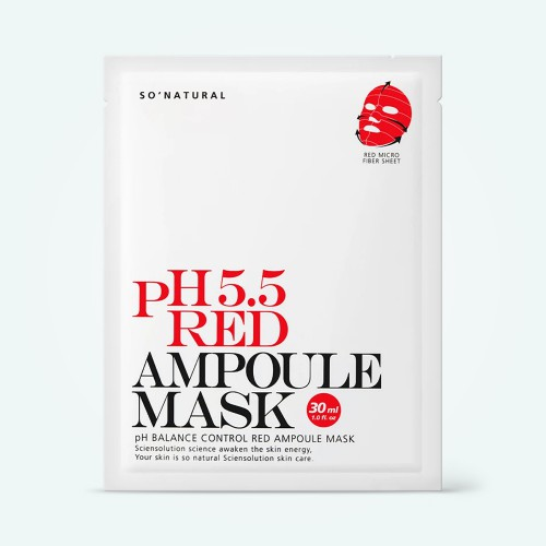 so-natural-55-red-ampoule-mask-30ml