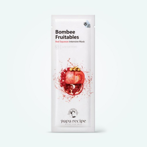 papa-recipe-bombee-fruitable-red-squeeze-intensive-mask-25g