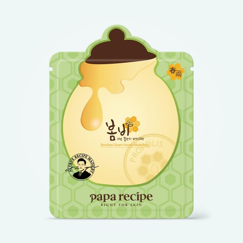 papa-recipe-bombee-green-honey-mask-pack-25g