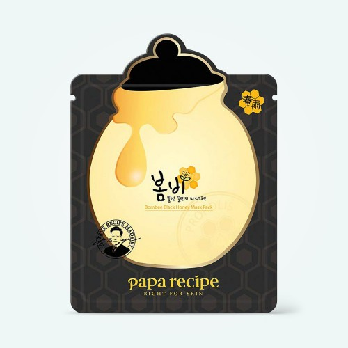 papa-recipe-bombee-black-honey-mask-pack-25g