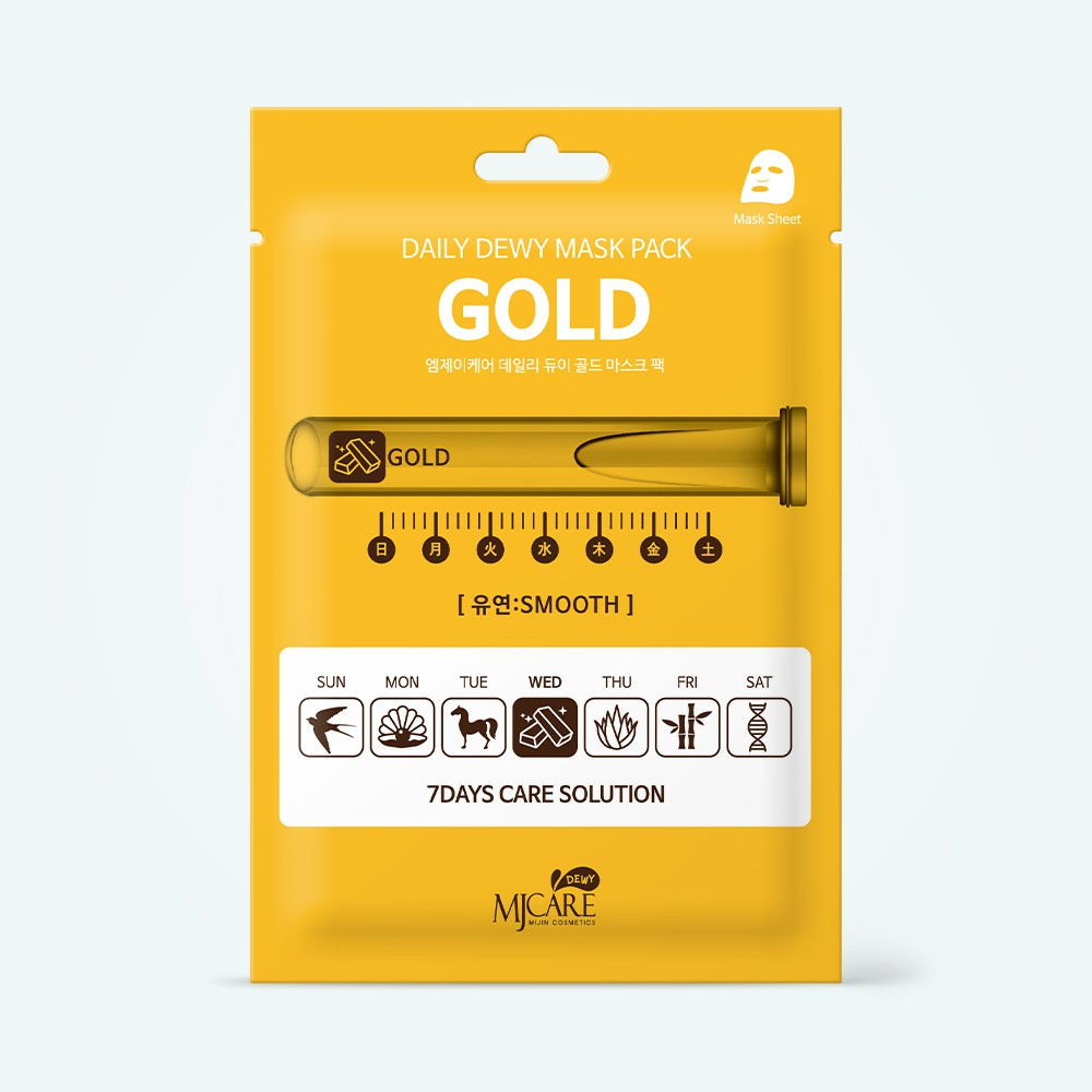 MjCare Daily Dewy Mask Pack Gold 25 g